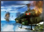 Just Cause 1, Walka, Helikopter�w